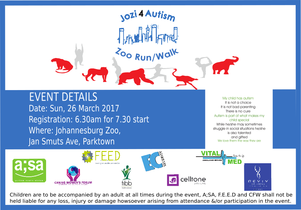 The 2nd Annual Autism Awareness Zoo Trot